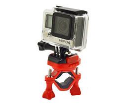 Кріплення для Gopro з платформою на велосипед на 360 градусів, підходить для всіх екшн камер, фото 3