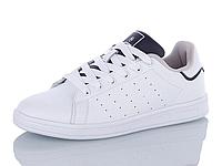 Кроссовки кожаные женские Restime белые, размеры в наличии ► [ 36 37 38 39 40 41 ]