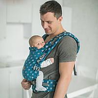"""Эрго рюкзак для новорожденных """"Бискай"""" ONE  Love & Carry Многофункциональн Рюкзак для переноски детей Анатомич"""