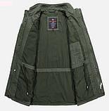Jp original 100% хлопок Мужская куртка в стиле милитари джип, фото 4