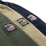 Jp original 100% хлопок Мужская куртка в стиле милитари джип, фото 8