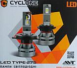 Лампы LED Cyclone H1 type-27 5000k 5100Lm 12v, 24v, фото 4