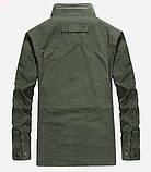 Jp original 100% хлопок Мужская куртка в стиле милитари джип, фото 5