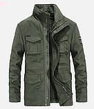 Jp original 100% хлопок Мужская куртка в стиле милитари джип, фото 2