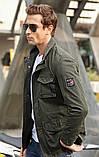 Jp original 100% хлопок Мужская куртка в стиле милитари джип, фото 9