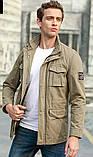 Jp original 100% хлопок Мужская куртка в стиле милитари джип, фото 10