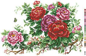 Картинка для вишивки нитками на канві (А2-16-002)