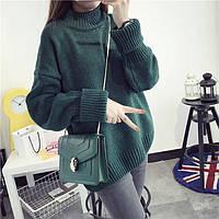 Теплый свитер женский оверсайз 42-44 (в расцветках)