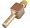 Беспроводной портативный Bluetooth микрофон караоке Magic Karaoke YS-68 с мембраной низких частот Gold, фото 2