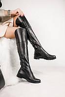 Шикарні високі женочі зимові ботфорти на натуральній шерсті р. 36 37 38 39 40 41
