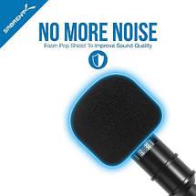 Многофункциональный петличный микрофон MILISO для телефона iPhone и Android, фото 3
