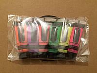 Набор красок для грима в тюбиках флуоресцентная 10 мл / 6 цветов., фото 1