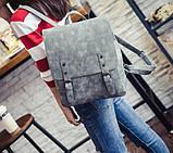Большой ретро рюкзак, фото 3