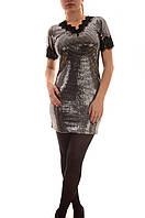 Нарядные платья оптом с блестками Beauty Woman