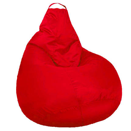 Кресло мешок SOFTLAND Груша XXL 130х100 см Красный (SFLD50), фото 2