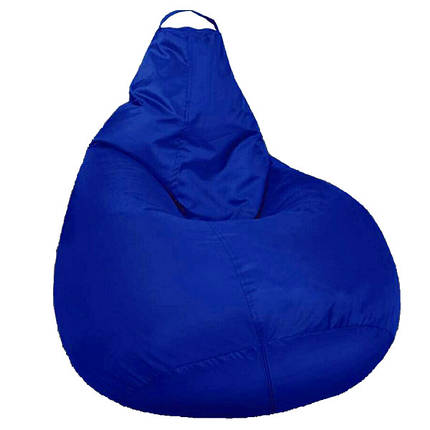 Кресло мешок SOFTLAND Груша XXL 130х100 см Синий (SFLD52), фото 2