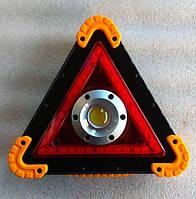 Аварийный знак с фонарем LED W837, фото 1