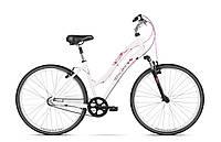 Городской велосипед BEST Suni D14 white-pink