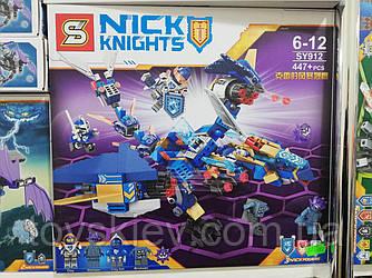 "Конструктор аналог Lego Нексо найтс ""NEXO KNIGHTS"" 912 Самолёт-истребитель Сокол Клэя"