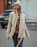 Зимнее женское тёплое пальто