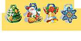 Стикер  Новогодний фигурный, дополнение в подарок, 60*60, фото 5