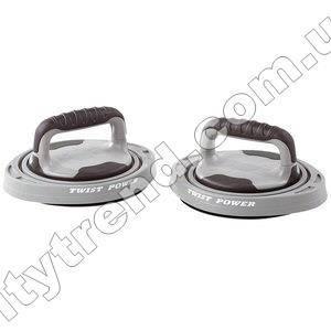 Упоры для отжиманий поворотные и диски здоровья 2 в 1 3-Way Push-Up Twister