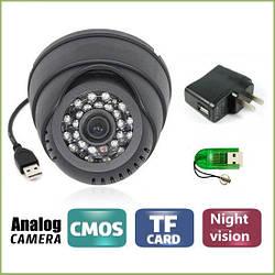 USB камера-реєстратор відео спостереження, 349USB DV+DVR+IR