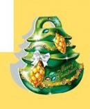 Стикер  Новогодний фигурный, дополнение в подарок, 60*60, фото 3