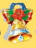 Стикер  Новогодний фигурный, дополнение в подарок, 60*60, фото 2
