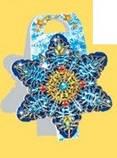 Стикер  Новогодний фигурный, дополнение в подарок, 60*60, фото 4