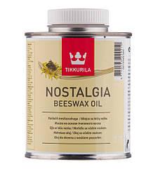 Масло на основе пчелиного воска Tikkurila Nostalgia Beeswax Oil 0.375л