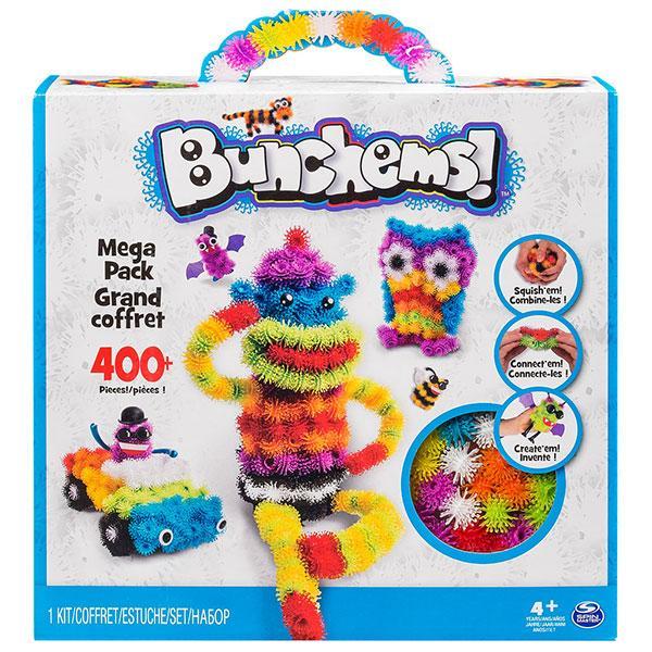 Детский конструктор Bunchems 400 предметов