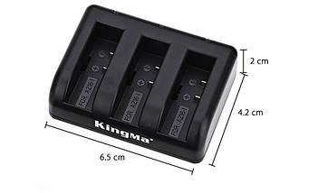 Зарядное устройство для Xiaomi 4K на три аккумулятора  AZ16, фото 2