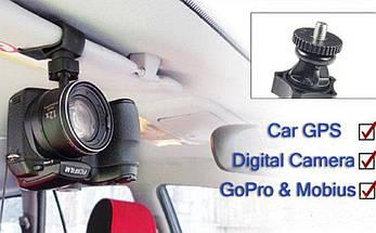 Крепление в автомобиль для GoPro, камеры, видео регистратора, фото 3