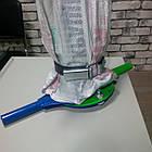 Клапан дозатор растариватель биг бегов с нижним клапаном в комплекте с направляющим рукавом, фото 7