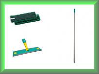 Швабра Microriccio Velcro микрофибра 40см TTS 1041887745MV в комплекте (Италия)