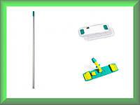 Швабра Microriccio Wet System Light с блокировкой микрофибра 40см TTS 1041868Y694 в комплекте (Италия)