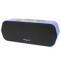 ✵Беспроводная портативная колонка ZEALOT S20 Blue Bluetooth 3D звук сенсорное управление AUX карта памяти