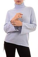 Теплый женский свитер оптом с элементами асимметрии Louise Orop, фото 1