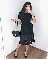 Платье женское вечернее чёрное, 42-46, фото 1
