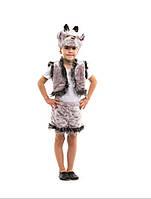 Карнавальный костюм детский Козлик серый