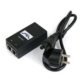 PoE-инжектор Ubiquiti Gigabit PoE 24V/0,5A/12W (POE-24-12W-G)