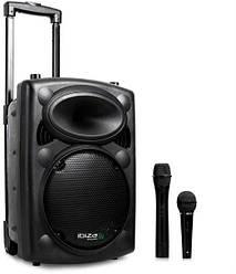Портативная колонка UKC BT12A 1000W + 2 микрофона