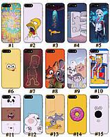 Чехол премиум качества с принтом Мультфильмы для Iphone 7 8 7Plus 8Plus