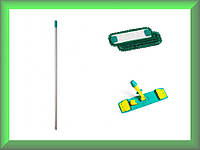 Швабра Microriccio Wet System Light с блокировкой микрофибра 40см TTS 1041868Y694MV в комплекте (Италия)