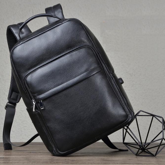 Чоловічий рюкзак з натуральної шкіри