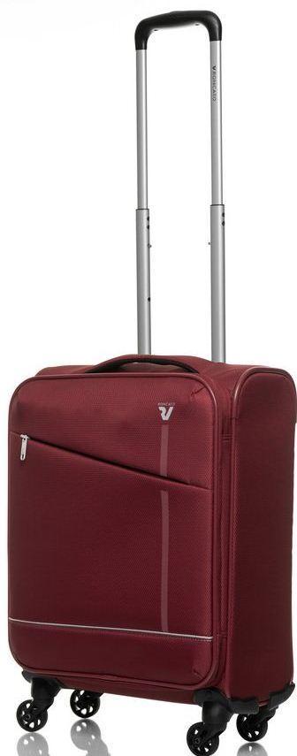 Малый дорожный чемодан Roncato Jazz, 40 л бордовый