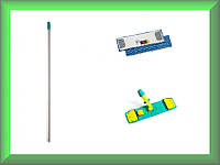 Швабра Microsafe  Wet System Light с блокировкой микрофибра 40см TTS 1041868Y696 в комплекте (Италия)