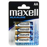 Батарейка Maxell AA/LR06 BL 4шт