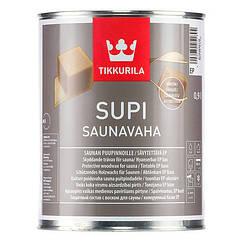 Защитный воск для саун Tikkurila Supi Saunavaha 0.9л